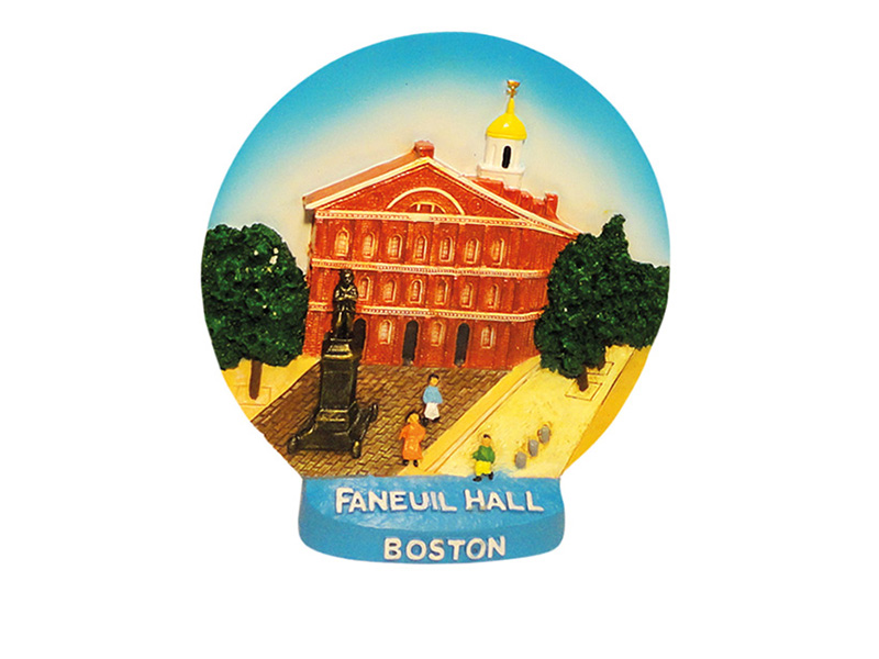 Boston Faneuil Hall Plate