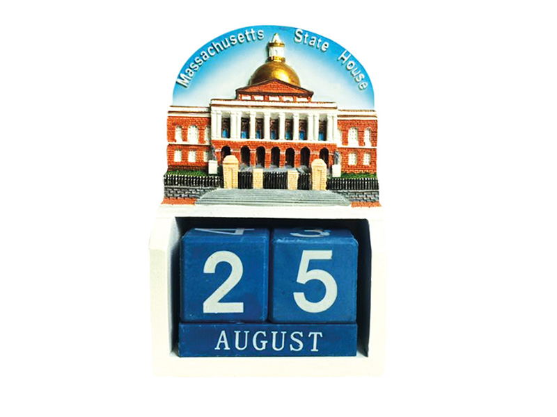 Boston State House Calendar