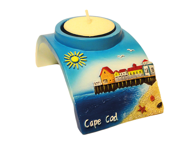 Cape Cod Beach Candle Holder
