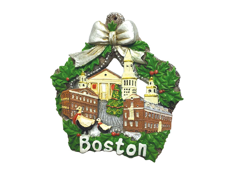 Boston Landmarks Star Ornament