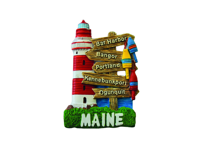 Maine Sign Post