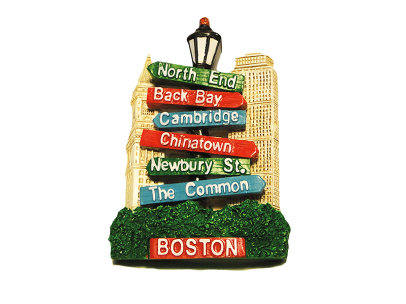 Boston Sign Post