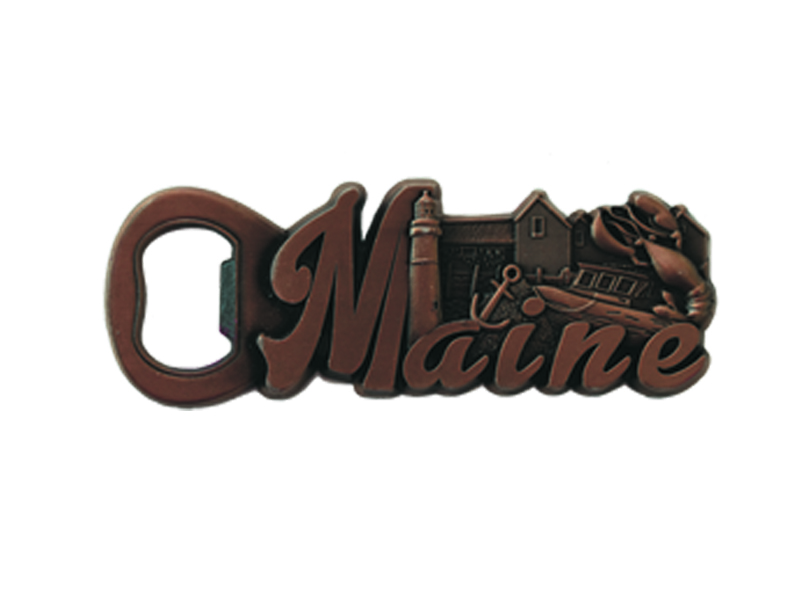 Maine Harbor Bottle Opener