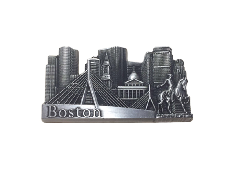 Boston Skyline Magnet