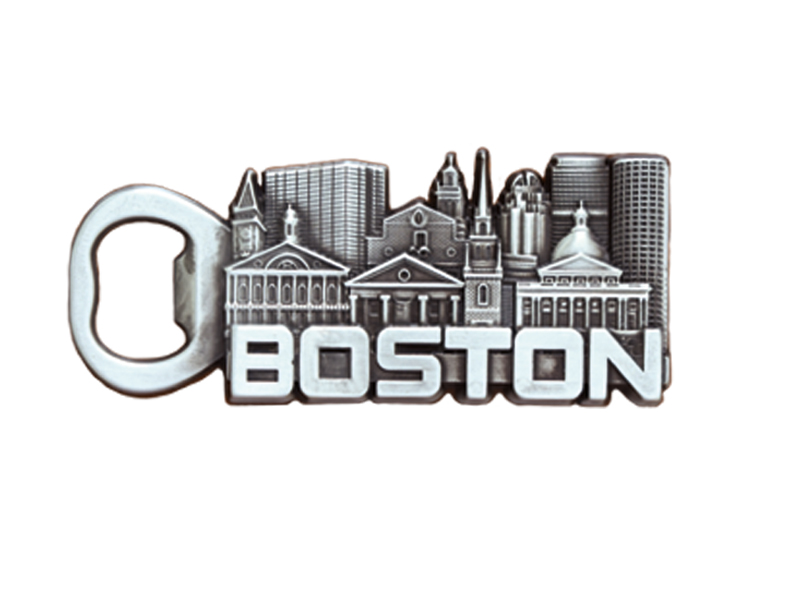 Boston Skyline Bottle Opener